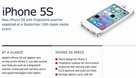 Image result for apple 5s iphone specs. Size: 279 x 160. Source: vaultfeed.com