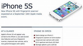 Image result for iphone 5s features and specifications