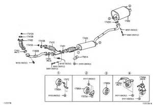 Lexus Rx300 Exhaust System Diagram Lexus Exhaust Pipe