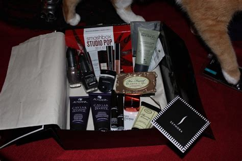 How Much Money Is On My Sephora Gift Card - amazing sephora goody box makeup and nail polish redditgifts