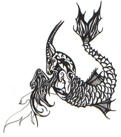 capricorn zodiac symbol tattoo design 50 best capricorn designs