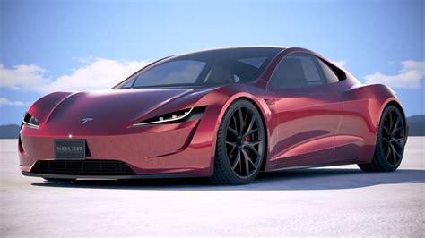 2020 Tesla Roadster by Lowpoly Tesla Roadster 2020