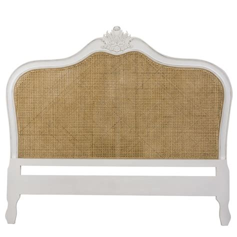 fresh simple wicker headboard size 13889