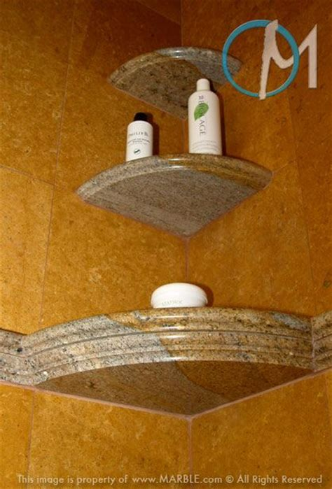 stone shower shelves  benches images