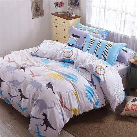 jurassic park bedding jurassic park bedding 100 cotton for kids bed sheet