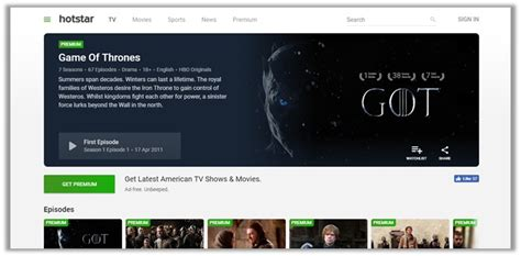 hotstar got how to watch game of thrones online 13 live streaming