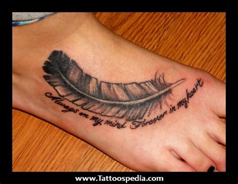 cute quote tattoos feather tattoos with quotes quotesgram