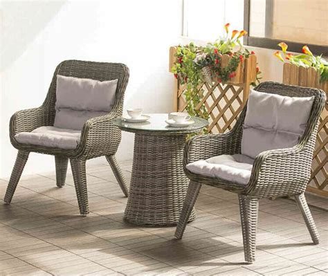 Factory Direct Sale Wicker Patio Furniture Lounge Chair Small Outdoor Patio Table And Chairs