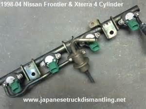 1998 Nissan Frontier 4 Cylinder Nissan Frontier Fuel Injectors 1998 1999 2000 2001 2002