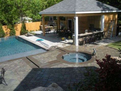 Hidden Backyard Pool The Perfect Outdoor Living Space This Backyard Features A