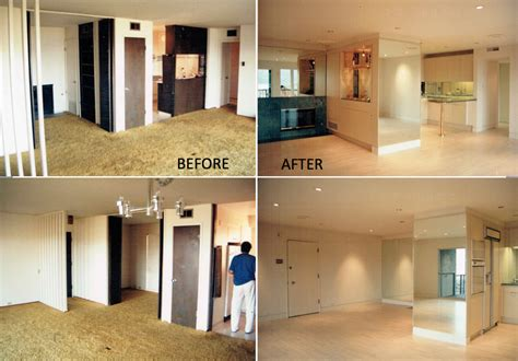 before and after decor interior design remodeling belvedere tiburon jerry