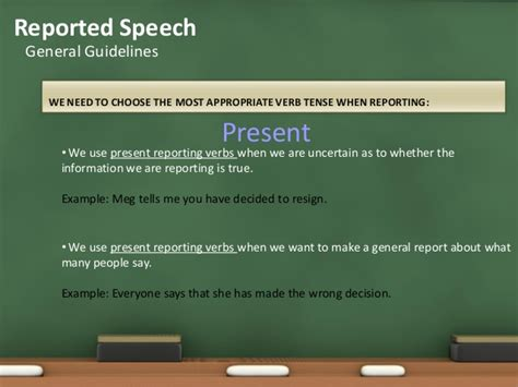 Essay Direct Speech by Guidelines In Writing A Reported Speech
