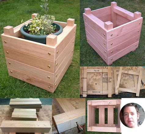 Square Planter Box Plans by 14 Square Planter Box Plans Best For Diy 100 Free
