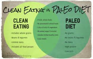 clean vs paleo diet what s the difference