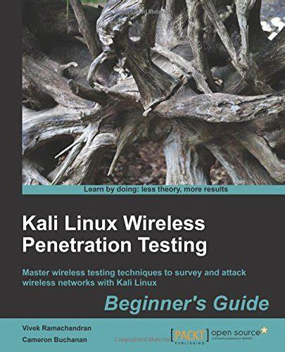 tutorialspoint kali linux penetration testing useful resources