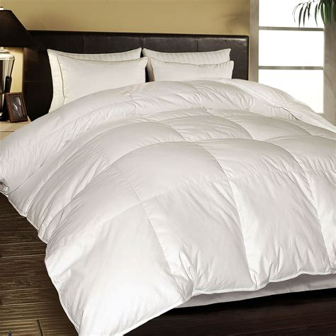 1000 Tc European White Down Comforter