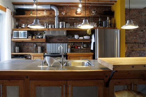 kitchen island montreal dominique industrial kitchen montreal by esther hershcovich