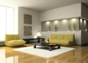 creative wall design for modern minimalist living room