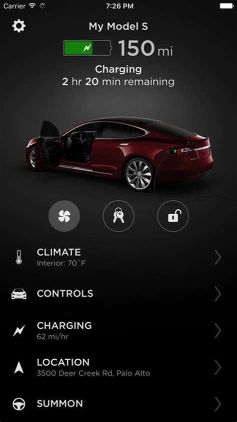 tesla apps tesla just overhauled its ios android apps link