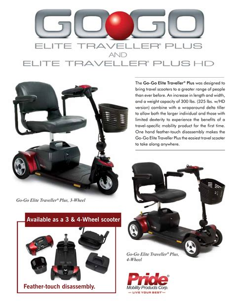 pride mobility   elite traveller sce user manual