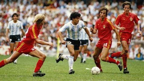 best of diego maradona jorge burruchaga the who let maradona conquer the