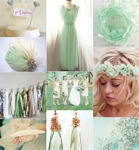 mint green wedding mint green
