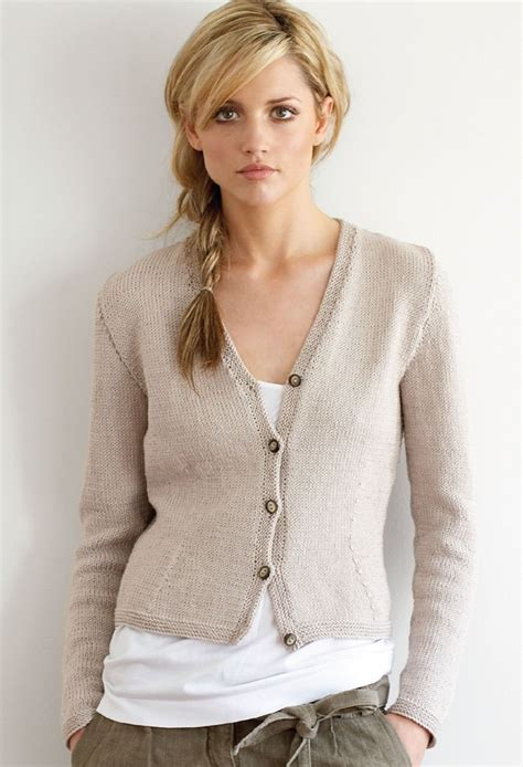 Pattern Cotton Cardigan | jo sharp fitted cotton cardigan pattern knitting pattern