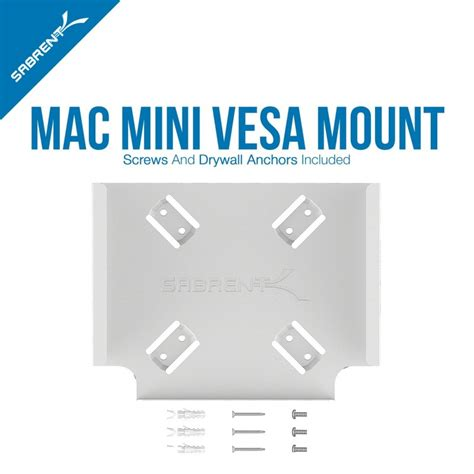 Mac Mini Mount Desk by Sabrent Mac Mini Vesa Mount Wall Mount Desk