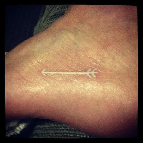 tattoo london white ink 71 beautiful arrow tattoos on foot