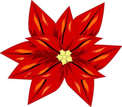 poinsettia clip art at clker com vector clip art online