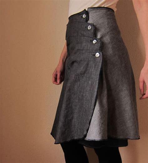 horizontal pleated skirt tutorial