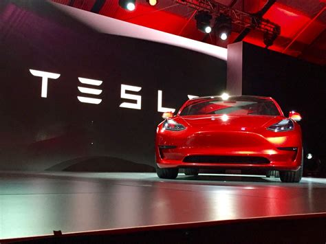 Tesla Events Tesla Model 3 Unveiling Event Will Take Place In July