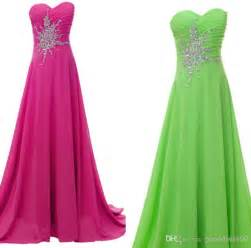 bridesmaid dresses pink and lime green overlay