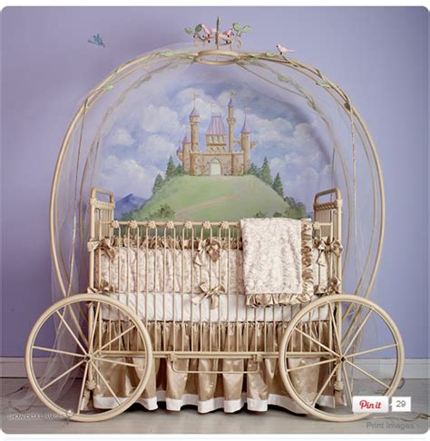 Princess Baby Cribs I Pears Cinderella Carriage Cribs