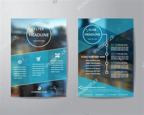 free business promotion flyer template psd download download psd