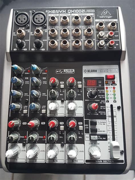 Mixer Behringer Xenyx Qx1002usb behringer xenyx qx1002usb image 2067443 audiofanzine