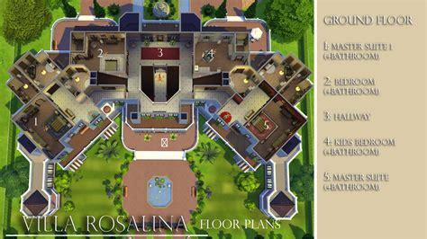 Mod The Sims   Villa Rosalina (NO CC)