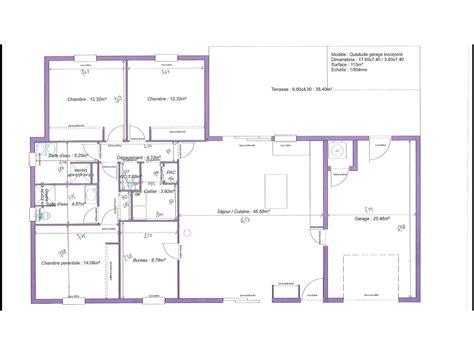 plan maison plain pied 1 chambre plan maison plain pied 3 chambres 1 bureau evtod