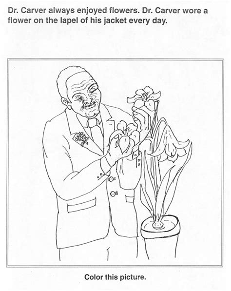 free coloring pages of george washington carver george washington carver coloring pages coloring home