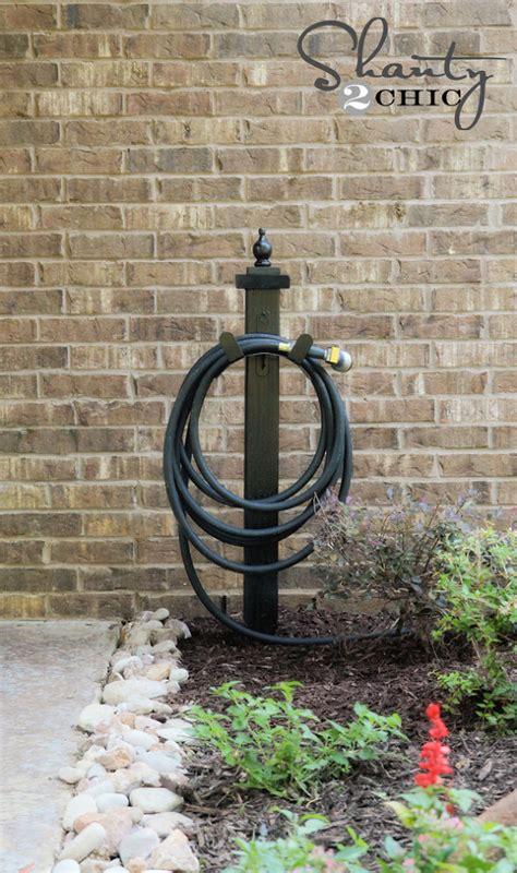 hometalk water hose holder   garden diy
