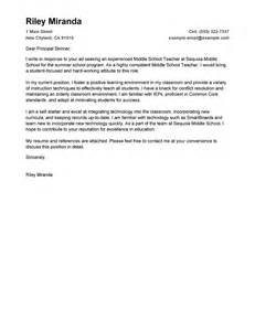 Leading Professional Summer Teacher Cover Letter Examples