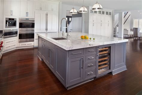 kitchen island with sink kitchen traditional with grey