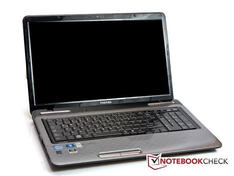 review toshiba satellite l775 125 notebook notebookcheck net reviews