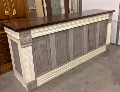 build a reception desk just finished this urban chic custom counter this evening