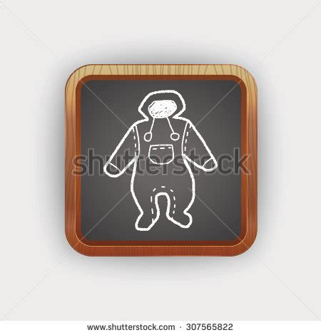 doodle do baby clothes toilet sign knees pressed stock photo 29018218