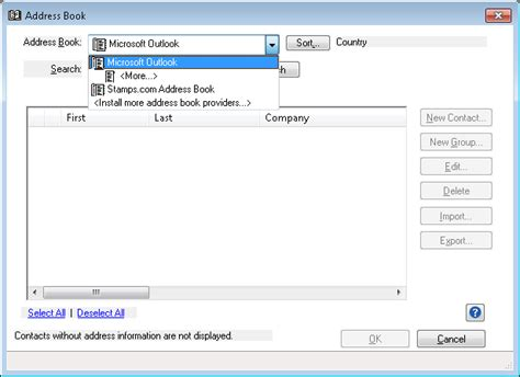 Outlook Address Book Search Outlook Address Book In