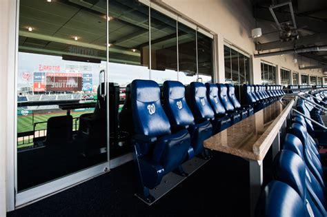 what are club box seats premium seating sections washington nationals
