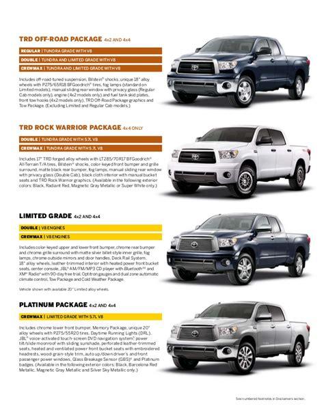 Toyota Tundra Brochure 2012 Toyota Tundra Brochure In Ta Florida Dealer