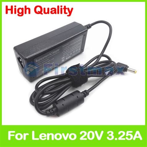Adaptor Laptop Lenovo Ideapad Y450 high quality 20v 3 25a 65w ac dc power supply ac adapter charger for lenovo ideapad g530 g550