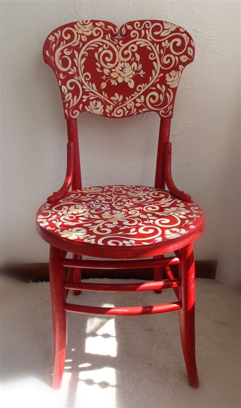 artist punches in chair 25 best ideas about decoupage chair on